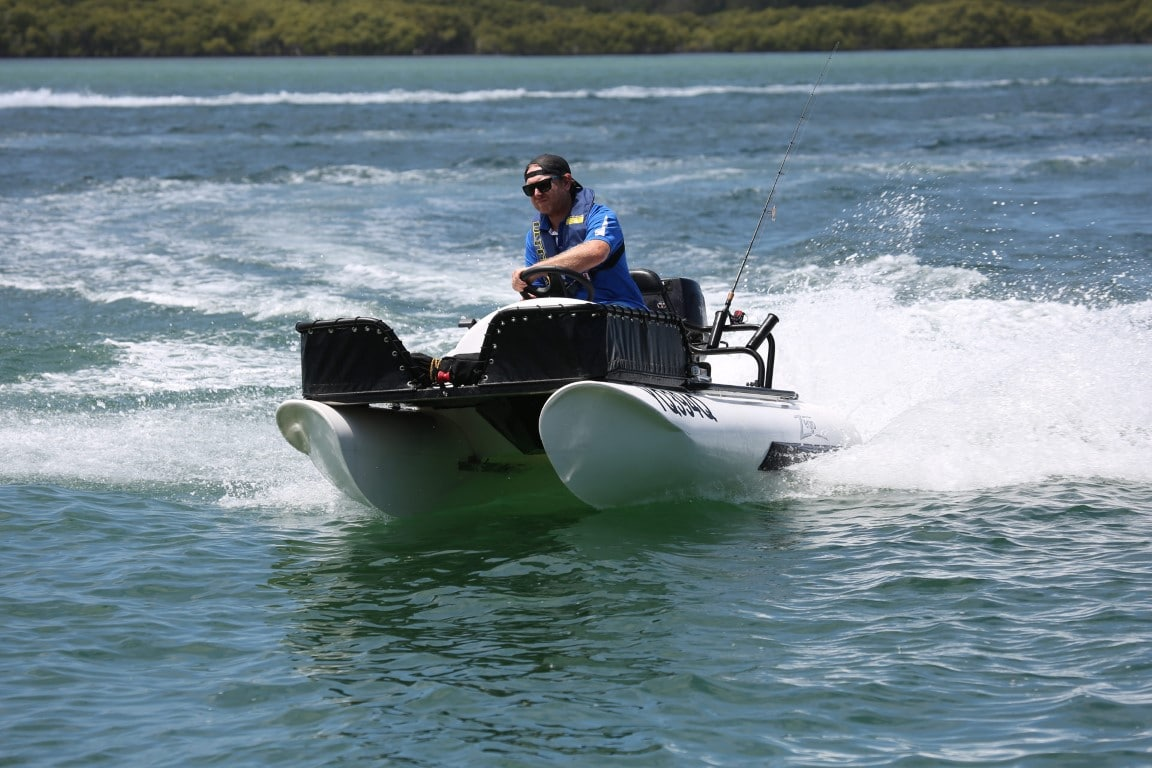 Zego Sportsboat on the Water